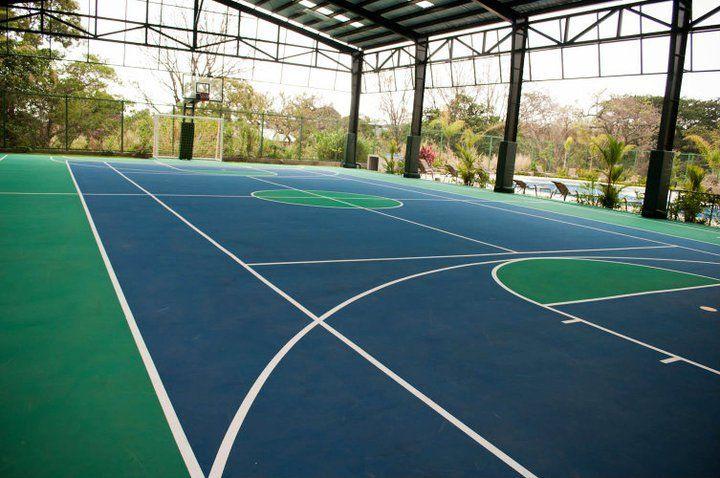 Cancha de tenis condominio san Vicente San Antonio de belén